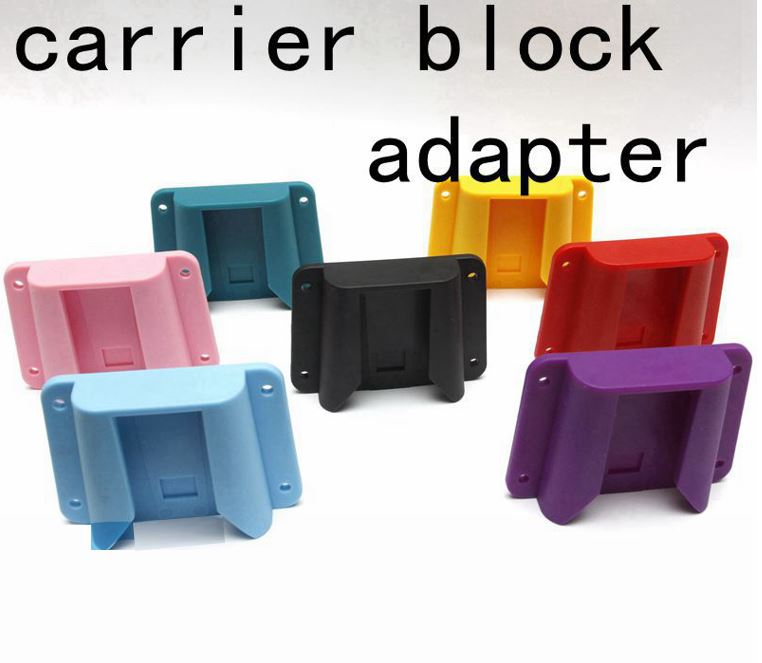 Bicycle Carrier Block Adapter Super Light For Brompton Bike Bag Front Cargo Rack