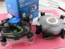 Heat sink Copper Core E97379-003 for INTEL CPU i3 i5 i7 Socket LGA 1150 1151 1155 1156 FOXCONN 0.2A 12V