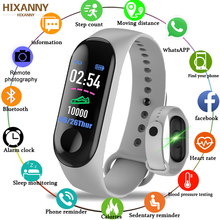 купить 2019 Smart Sport Bracelet Wristband Blood Pressure Heart Rate Monitor Pedometer Smart Watch men For Android iOS Smart Watch Men онлайн