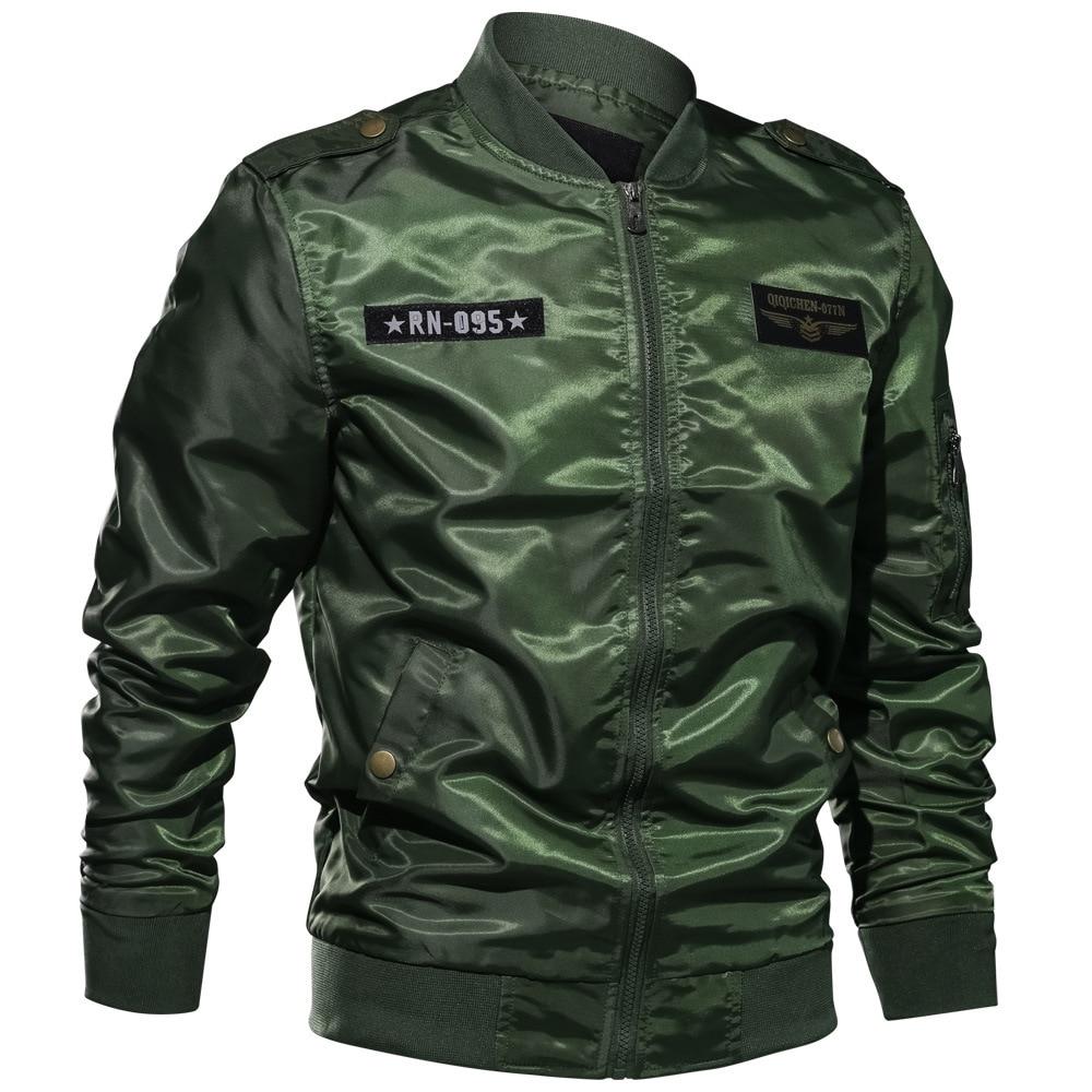 Abd hava kuvvetleri adam ceketler Coat İlkbahar yaz palto ceket ve mont XXXXXXL artı boyutu mücadele erkek ceket ince Streetwear a636