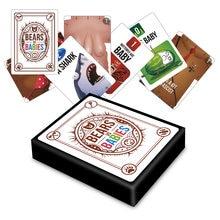 Bear VS Babie-juegos de cartas para niños y adultos, juguetes educativos, juegos de viaje para fiesta familiar, juegos básicos de expansión NSFW, regalos