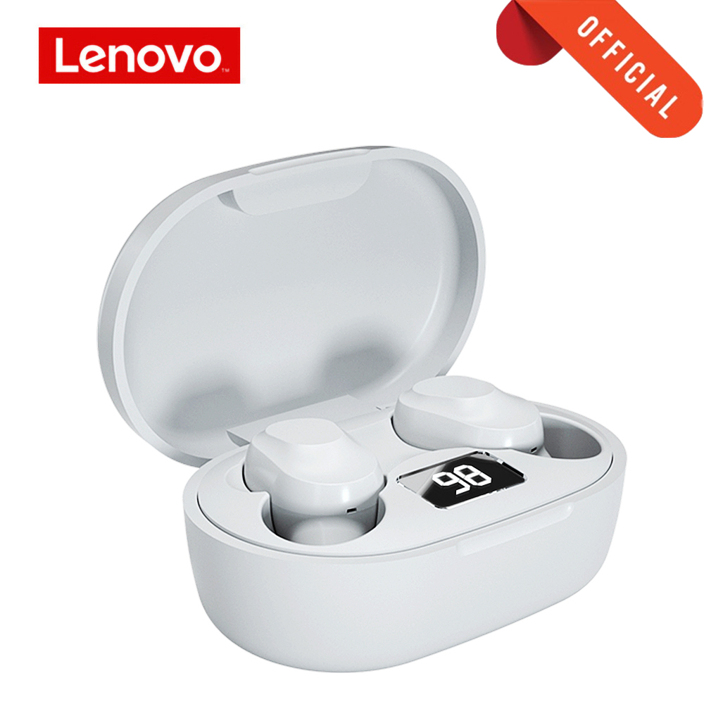 Беспроводные Bluetooth наушники Lenovo XT91, TWS наушники-вкладыши, гарнитура для громкой связи, стерео бас с микрофоном, наушники с шумоподавлением