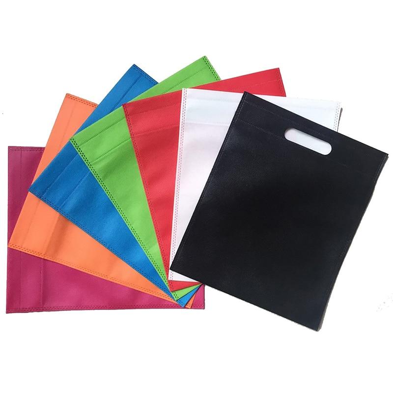 New Wholesales Reusable Bags Non Woven /shopping Bags/ Promotional Bags Accept Custom LOGO