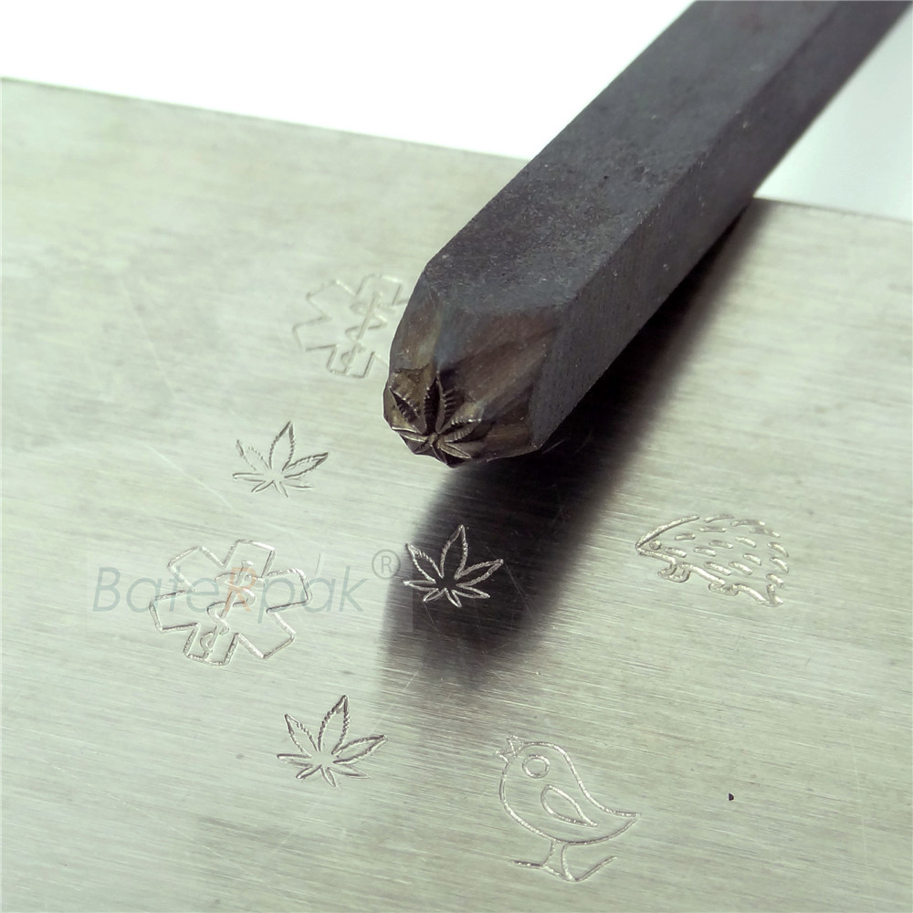 Made With Love  4mm Metal stamp punch
