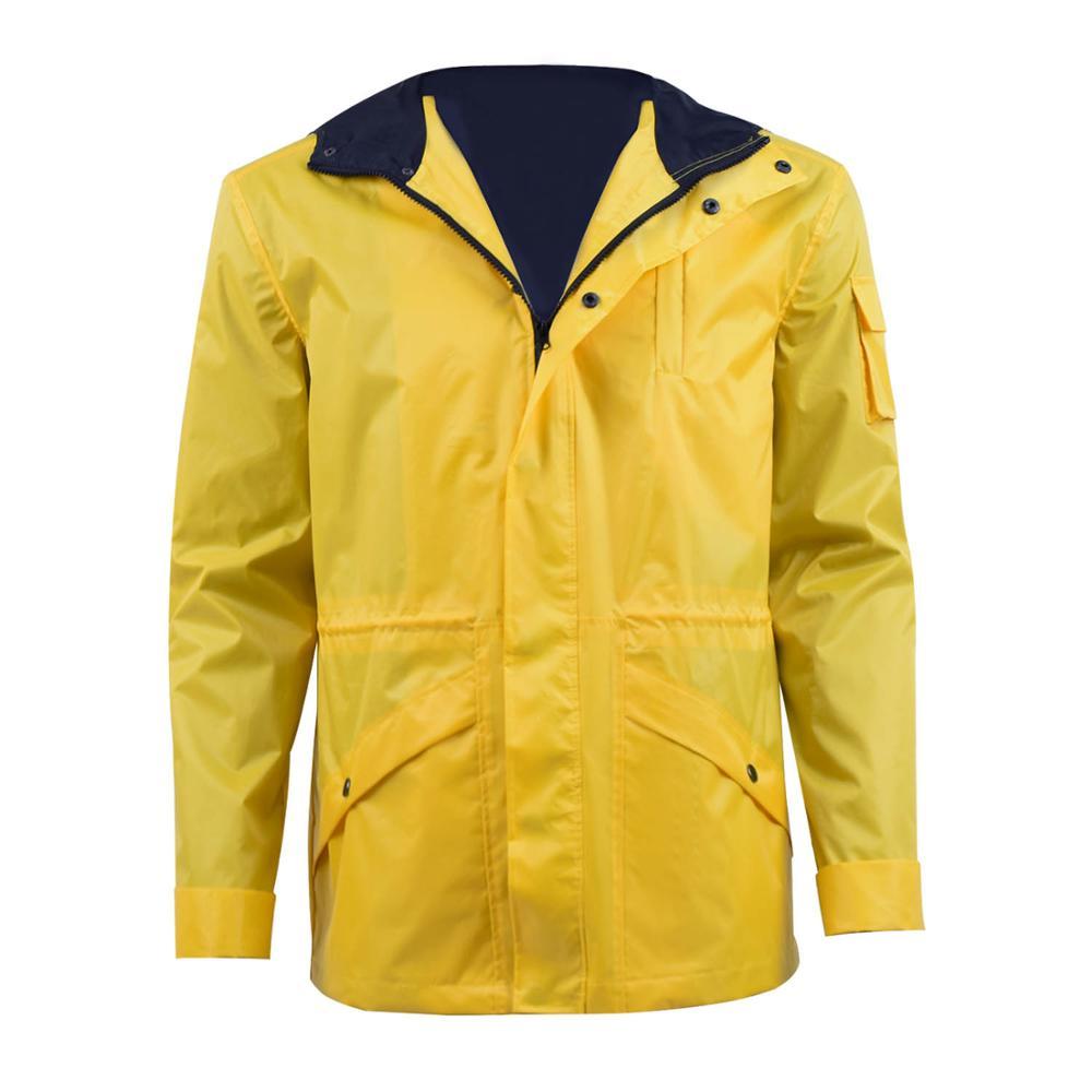 Cosdaddy Jonas Kahnwald Cosplay Costume Men's Yellow Jacket Hooded Raincoat Dark Halloween Costume Coat