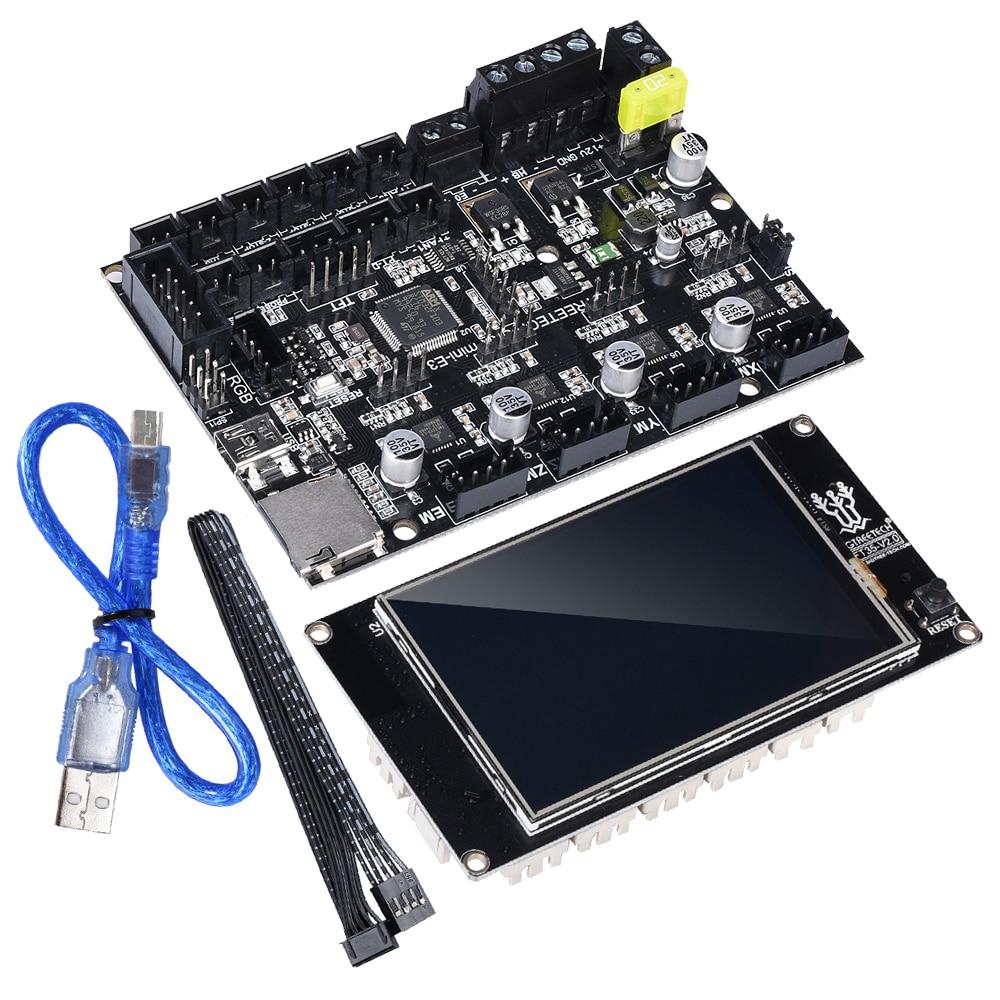 BIGTREETECH SKR MINI E3 Motherboard 32 Bit ARM + TFT35 Touch Screen Kit Integrated TMC2209 UART for Ender 3 3D Printer Board MKS