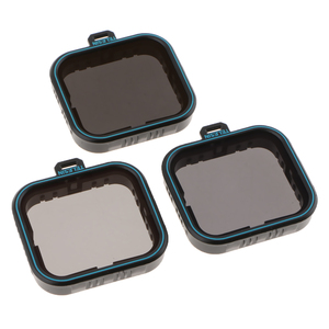 Image 4 - ل GoPro بطل 7 6 5 الأسود عدسة الكاميرا مرشحات مجموعة ND محايد الكثافة تصفية ND4/ND8/ND16 ، حماية الغبار