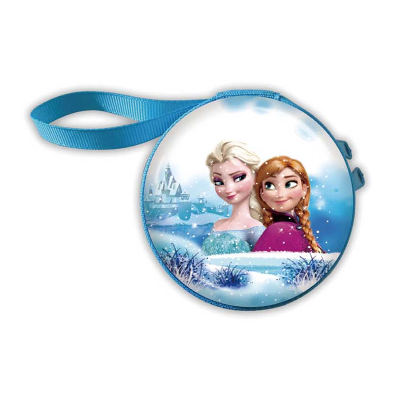 New Women Kawaii Mini Bag Cartoon Elsa Princess Coin Purse Cute Children Girls Wallet Earphone Organizer Box Bags Christmas Gift