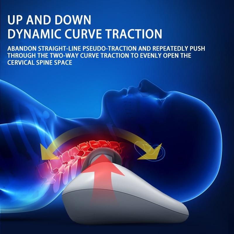 Coussin de Massage sans fil masseur de Traction cervicale