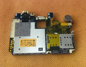 Image 2 - Gebruikt Originele moederbord 4G RAM + 64G ROM Moederbord voor HOMTOM ZOJI Z8 MTK6750 Octa Core Gratis Verzending