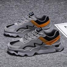 Popularne męskie obuwie trenerzy męskie Tenis Masculino nowe buty do chodzenia Krasovki lekkie męskie buty płaskie Adlut Ayakkab Erkekler
