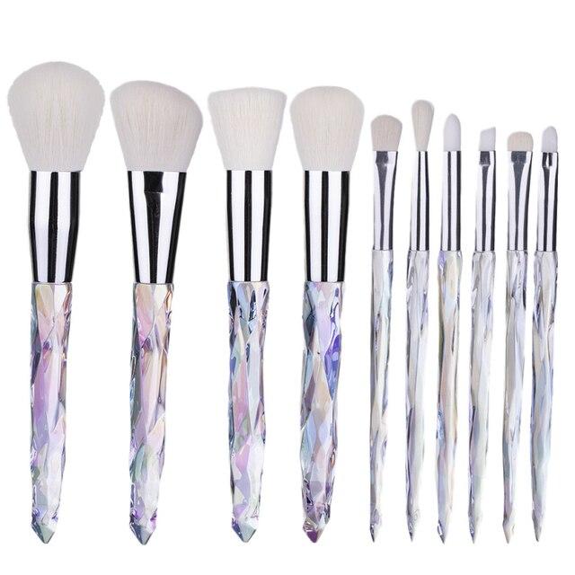 Hot Makeup Brushes Set Fan Loose Foundation Powder Contour Blush Eyebrow Brush Eye Make Up Brush Cosmetics Beauty Tools TSLM1