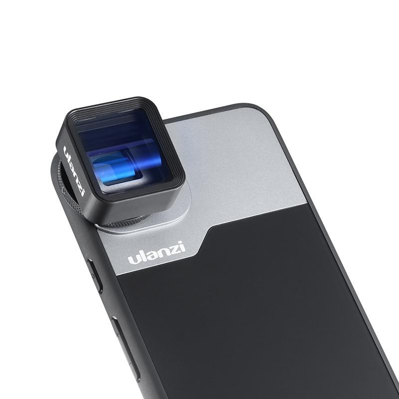 Ulanzi 17MM Thread Phone Lens Case Kit For Pixel 4 4XL 10X Macro Lens 1.33X Anamorphic Lens Case