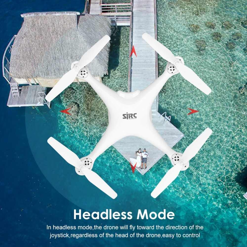 SJ R/C Cámara Selfie altura S20W FPV 720P 1080P mantener Drone modo sin cabeza retorno automático despegue/aterrizaje Hover GPS RC Quadcopter