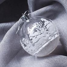 Елочные игрушки ручной работы паста дрель Рождественские шары Merry Christmas Tree подвесные украшения Рождественские шары для украшения