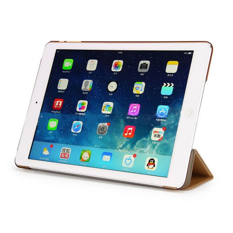 """Capa inteligente para apple ipad air, capa dobrável para ipad air 1 1 1/4 """"a1474 a1475 ipad air 2 a1566 a1567 6"""