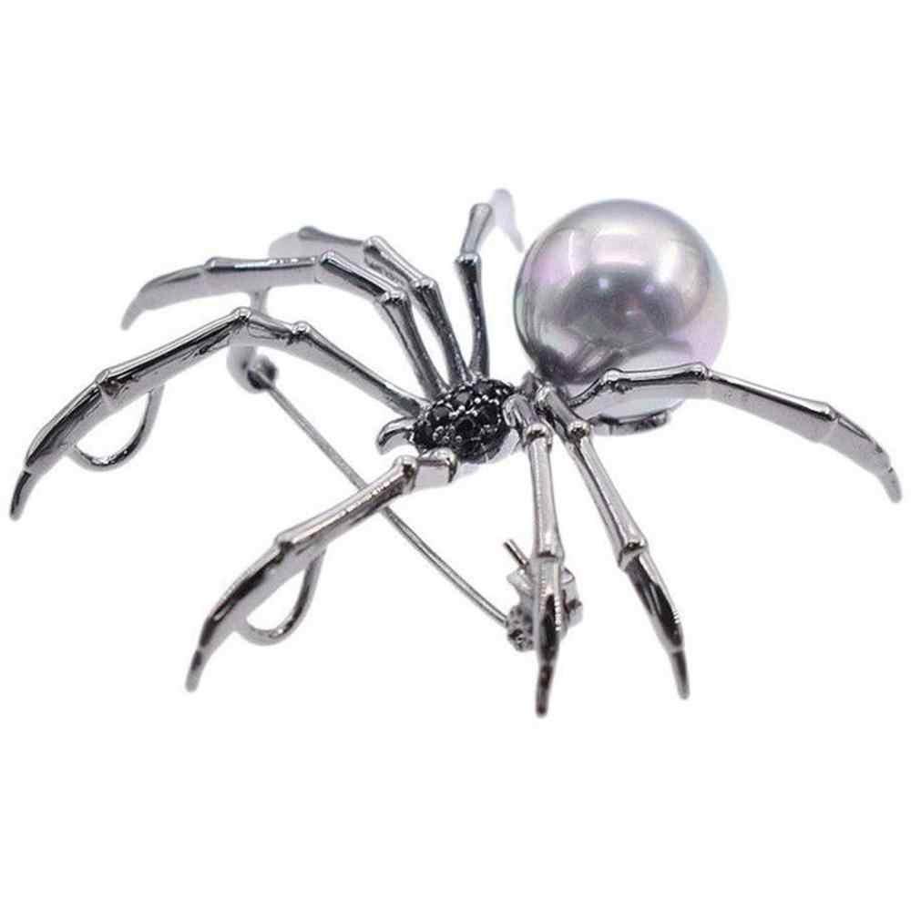 Mewah dan Desain Unik Bros Spider Bros High-End Wanita Kancing Hadiah dengan Perhiasan Syal Dasi Topi Hadiah #1104