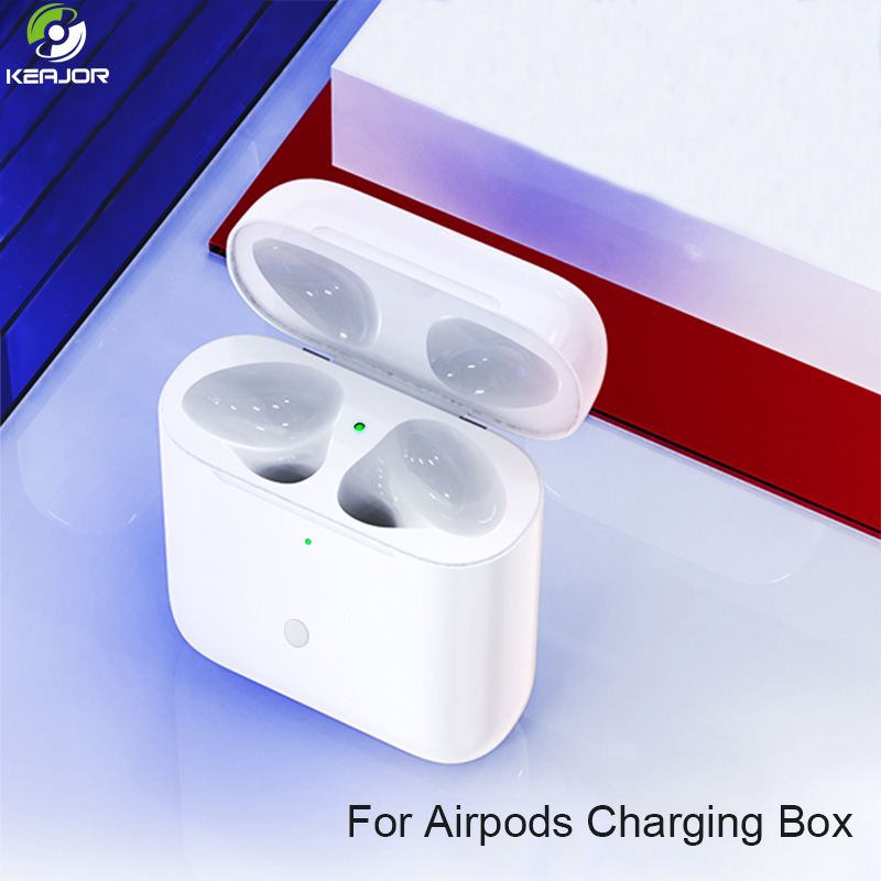 450Mah Charging Case For <font><b>Airpods</b></font> Qi Wireless Bluetooth With Pairing <font><b>Pop</b></font> <font><b>up</b></font> Windows Replacement Charger Box For <font><b>Airpods</b></font> Pods 1 2 image