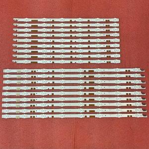 Image 2 - 새로운 2set = 36pcs LED 백라이트 스트립 삼성 UE55JU6800K UE55JU6870U V5DR_550SCA_R0 550SCB_R0 BN96 38481A 38482A 38880A 38881A