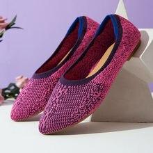 Туфли лодочки женские на низком каблуке Повседневные Удобные