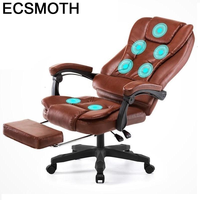 Armchair  Boss Office Biurowy Massage Sedia Bureau Meuble Escritorio Gamer Leather Cadeira Silla Gaming Poltrona Computer Chair