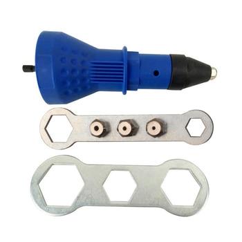 waveway 2 4mm 4 8mm electric rivet nut gun riveting tool cordless riveting drill adaptor insert nut tool riveting drill adapter Electric Rivet Nut Gun Drill Adapter Cordless Riveting Drill Adaptor Insert Nut Tool Riveting Drill Adapter
