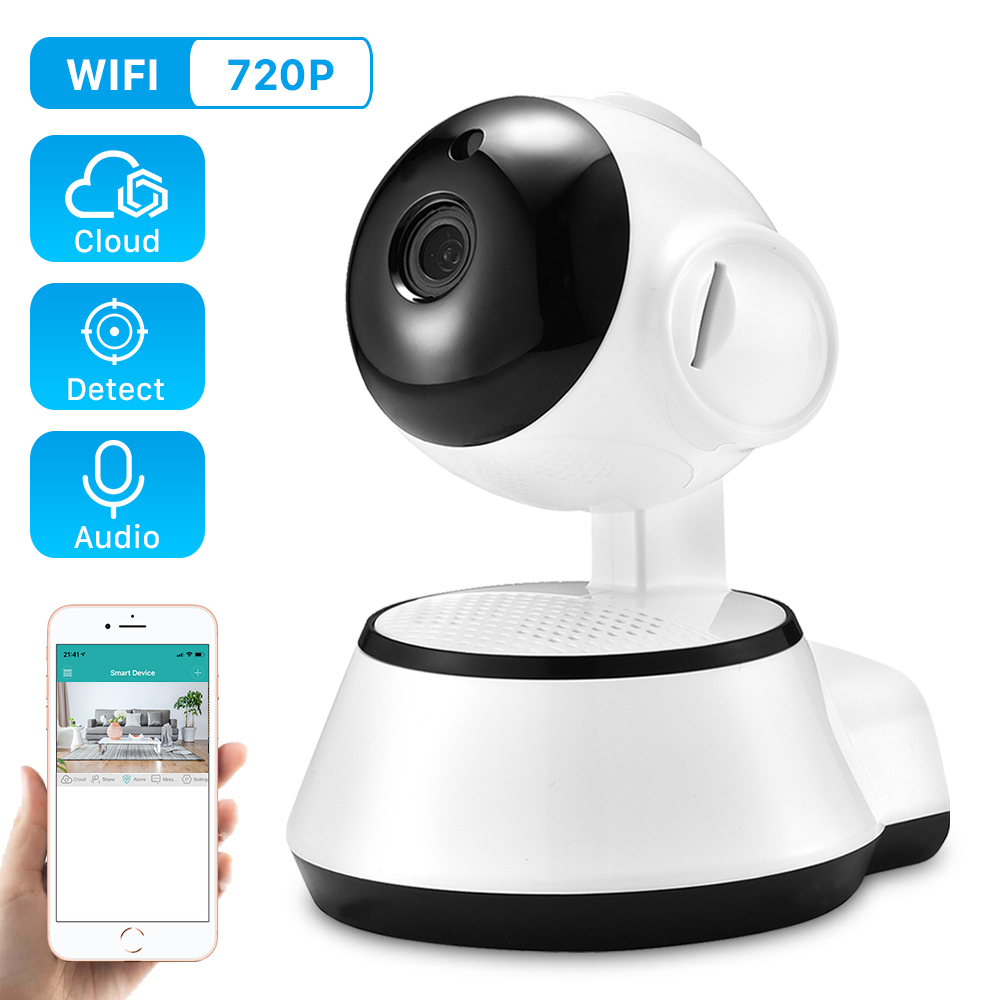 ANBIUX Baby Monitor Cctv-Camera Audio-Record Surveillance Mini Icsee Home-Security Wireless