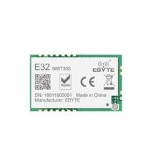 E32-868T30S sx1276 módulo uart rf lora 868mhz 30dbm 8km módulo sem fio transceptor transmissor receptor antena ipx smd