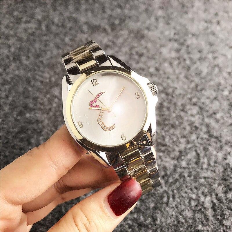 Relogio Masculino Watches Women Fashion Sport Box Stainless Steel Leather Touses Watch Quartz Business Wristwatch Reloj Hombre