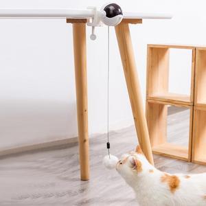 Новая электрическая забавная игрушка для кошек Кот шарик-Тизер Игрушка Автоматическая подъемная пружина йо-йо подъемный мяч Интерактивная...