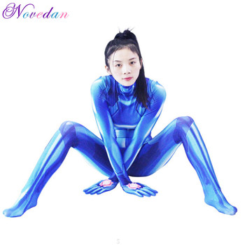 Galaxy Warrior Cosplay Adult Clothing 3d Digital Halloween Siamese Tights Custom Garments Men And Women new men and women long sleeved siamese sunscreen snorkeling service hooded diving sun clothing jellyfish siamese swimwear