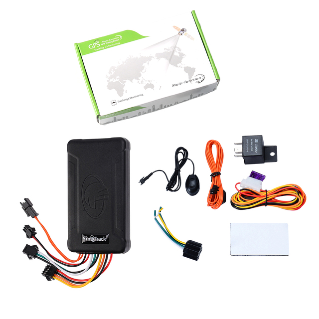 SinoTrack ST-906 GSM GPS tracker  for Car motorcycle vehicle tracking device with Cut Off Oil Power & online tracking software 5