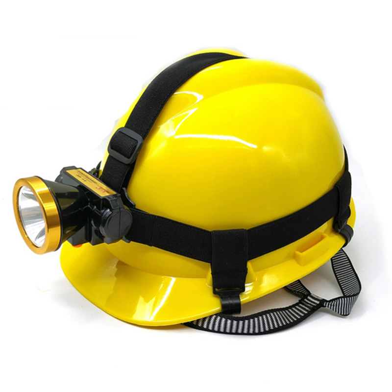 Safety Helmet With Headlights Miners Charging Lamp Hard Hat LED Headlights For Construction Working Protective Helmets