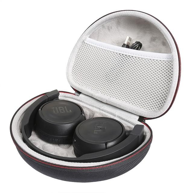 קשה מקרה עבור JBL T450BT/T460BT/T500bt אלחוטי אוזניות תיבת נשיאת מקרה נייד תיבת אחסון כיסוי (רק מקרה)