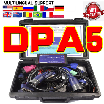 Newest DPA5 Dearborn Protocol Adapter 5 Heavy Duty OBD2 Truck Scanner DPA Diesel Diagnostic Tool Without Bluetooth