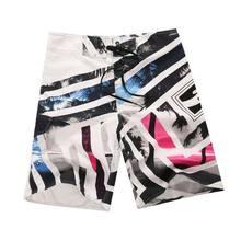 Шорты мужские пляжные быстросохнущие, праздничные летние костюмы для серфинга, 2021