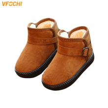 VFOCHI New Girl Winter Boots for Kids 7 Color Soft Non-Slip Outdoor Shoes Children Casual Flat Baby Girls Snow