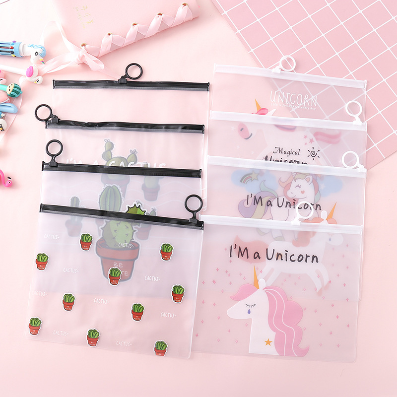 1Pcs Kawaii Pencil Case Cute Cartoon Pattern Office Student Pencil Cases School Supplies Pen Box Astuccio Scuola