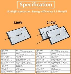 Image 3 - high quality QB 120W 240W Led Grow Light Board Full Spectrum Samsung LM301B SK 3000K 3500K 4000K 660nm DIY