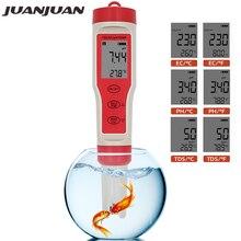 Temperature-Meter-Tester Aquariums Hydroponic Digital Drinking-Water PH 4-In-1 Tds Ec
