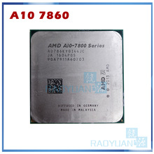 CPU Processor A10-7800-Series AMD Quad-Core Fm2  7860 Ghz Ad786kybi44jc-Socket