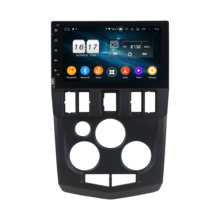 "Klyde 8 ""1 din 6 núcleo android 9.0 px6 carro multimídia player para renault logan l90 áudio do carro 4 + 64g carro estéreo rádio canbus(China)"