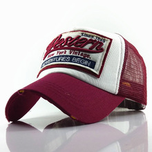 Summer Baseball Cap Men Women Embroidery Mesh Caps Snapback