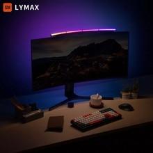 Xiaomi-lámpara de mesa Youpin LYMAX para Monitor de ordenador, pantalla curva, para escritorio, atenuación, cuidado de los ojos, música sensible al sonido, luz colgante para juegos