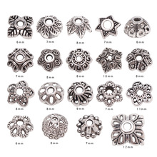 Alloy-End-Caps Separate Beads Jewelry-Making Tibetan Silver Metal Bracelet Diy Necklace