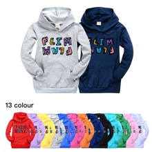 Boys Hoodies Flim Flam Flamingo Sweatshirts Outerwear Girls Kids Jacket Coat Pullovers