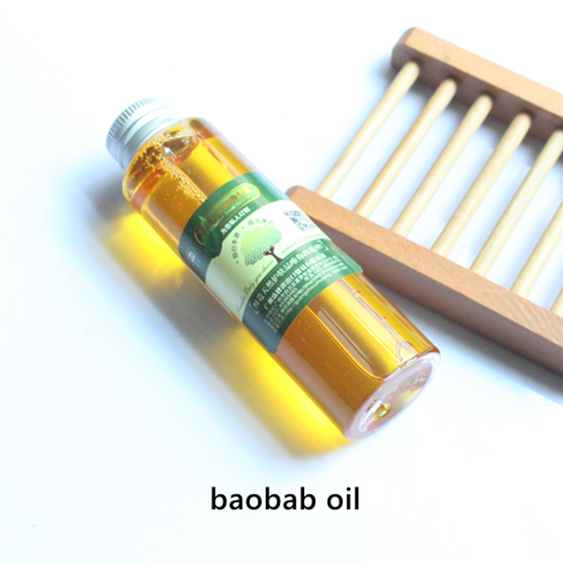 Купить с кэшбэком Baobab oil, natural vitamins A,D,EF, anti-aging and anti-oxidation,highly moisturize skin,soften cuticle and increase elasticity