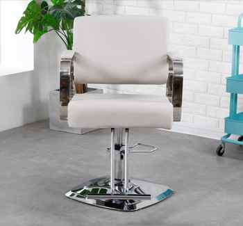 Barber shop chair hair salon special hairdressing chair barber shop hair cutting chair rotating stainless steel grooming chair