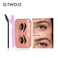 Eyebrow Soap Wax With Trimmer Fluffy   1