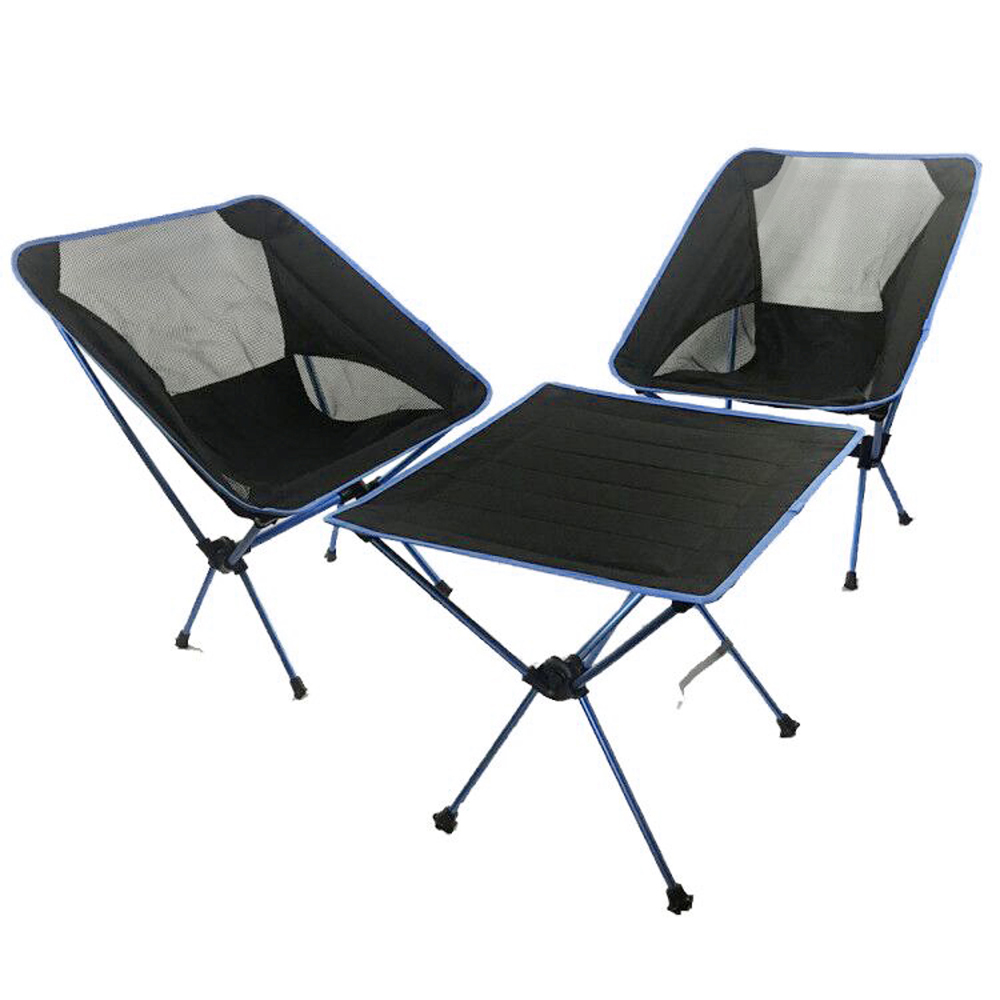 Hooru Garden Table Chair Set Outdoor Camping Folding Table With Chairs Portable Lightweight Backpack Beach Picnic Furniture Set Best Sale 0ecbc Cicig